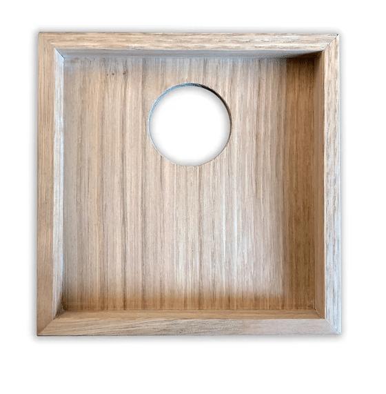 cadre bois pour carreau ceramique artisanal