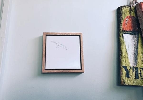 cadre déco murale oiseau lldeco