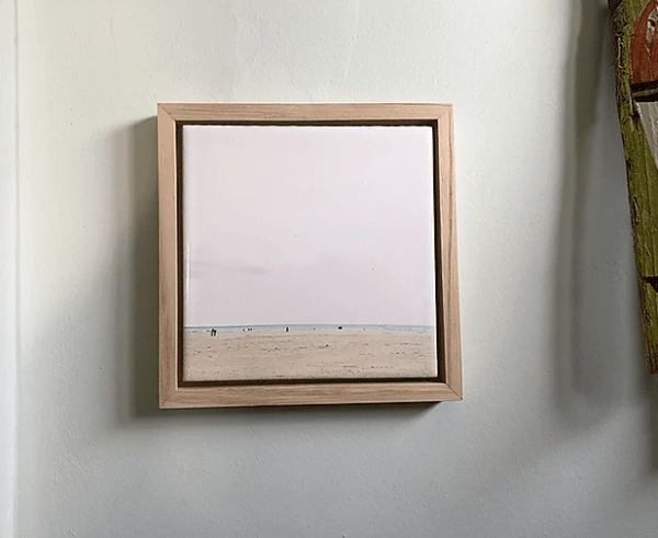 cadre mural la plage lldeco
