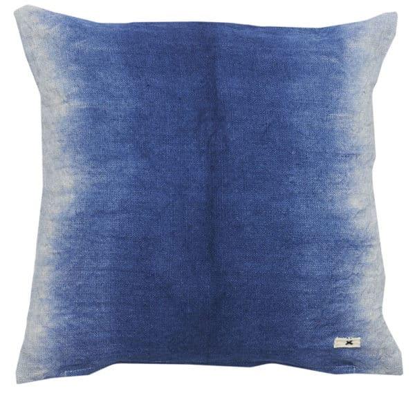 coussin carre dip dye bleu indigo lldeco jacky
