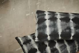 coussin tie & dye llldeco noir