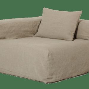 fauteuil angle lin naturel lldeco