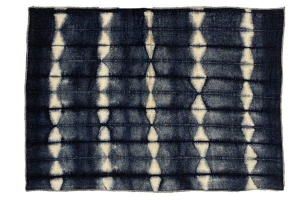 lot de 2 sets de table lin tie and dye fait main lldeco