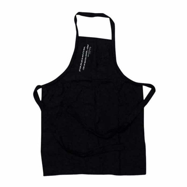 tablier de cuisine TU charbon lldeco