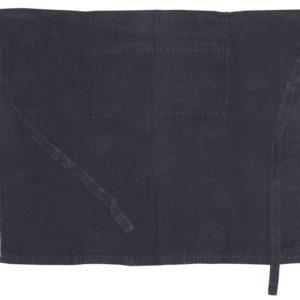 tablier lin noue taille couleur charbon lldeco