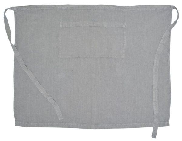 tablier serveur lin gris clair lldeco
