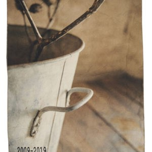 torchon coton bassine zin