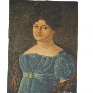 torchon coton cuisine imprime lady