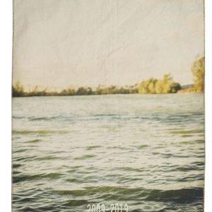 torchon coton imprime lac