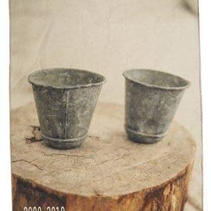 torchon cuisine coton pots en zinc