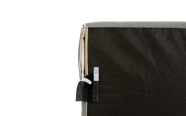 finition speciale exterieur pour canape bord de piscine