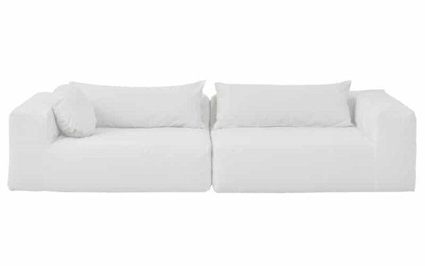 grand canape exterieur blanc lldeco