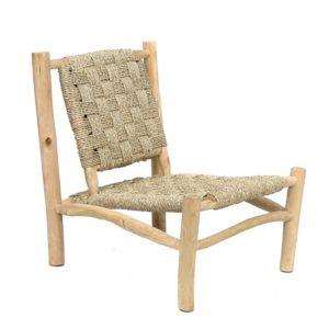 grand fauteuil corde tressée naturel lldeco