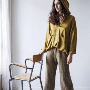 pantalon lin femme lldeco