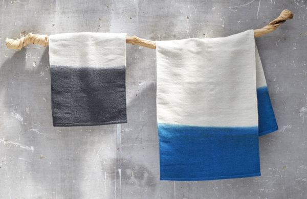 tapis laine tie&dye