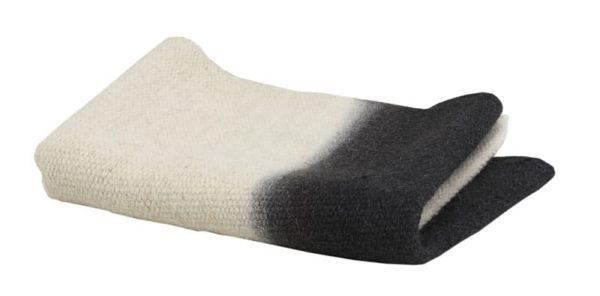 tapis tie&dye charbon laine lldeco