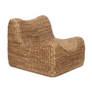 fauteuil jacinthe d'eau lldeco