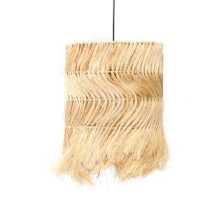 plafonnier fibre naturel lldeco