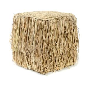 pouf tabouret naturel