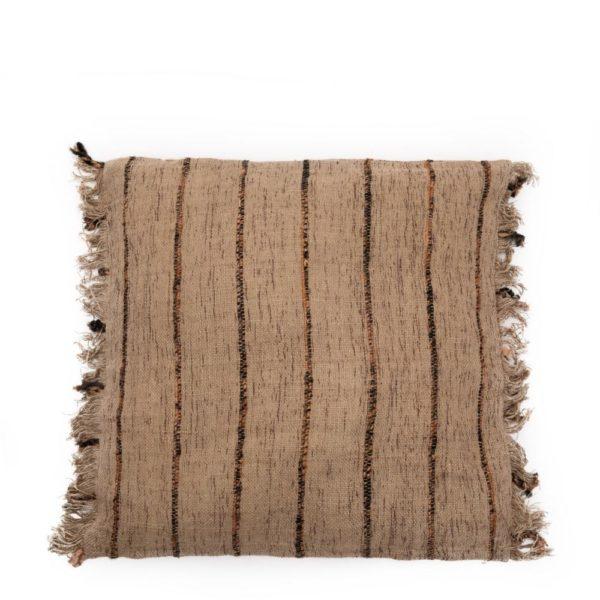 housse coussin bazar bizar fibre naturel coton tissage main