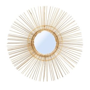 miroir tropical naturel lldeco
