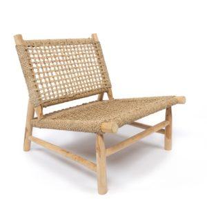 fauteuil island en teck naturel lldeco