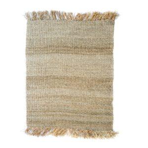 grand tapis en fibre raphia naturel lldeco