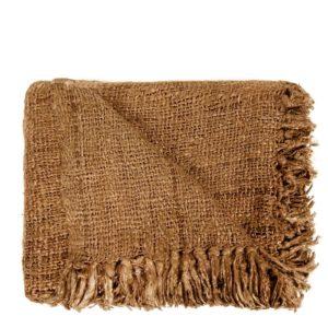 plaid coton camel lldeco