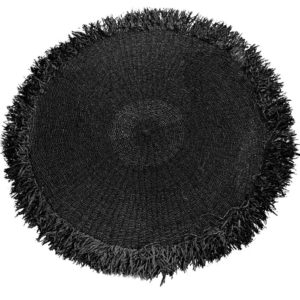 tapis en raphia rond 200cm lldeco