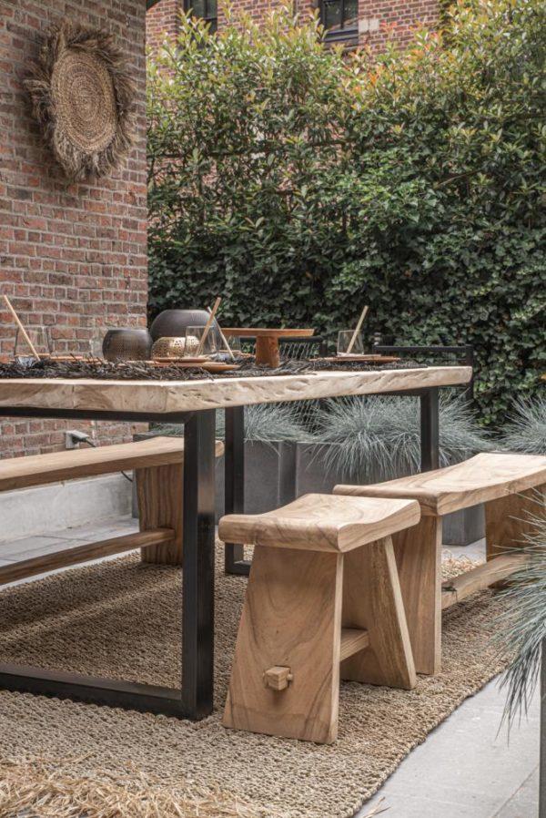 mobilier bois massif suar exterieur lldeco